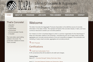 Idaho Concrete and Aggregate Producers Association