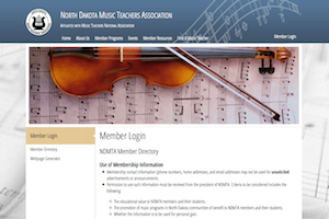 North Dakota Music Teachers Association